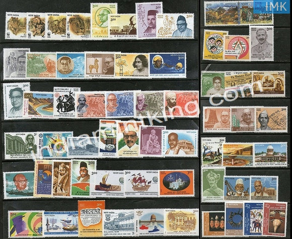 MNH India Complete Year Pack - 1999 - buy online Indian stamps philately - myindiamint.com