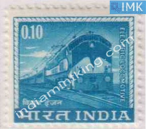India MNH Definitive 4th Series Electric Locomotive 0.10 - buy online Indian stamps philately - myindiamint.com
