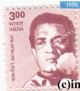 India MNH Definitive 10th Series Satyajit Ray Rs 3 - buy online Indian stamps philately - myindiamint.com