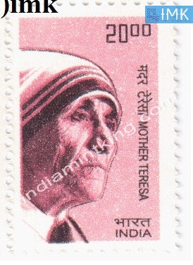 India MNH Definitive 10th Series Mother Teresa Rs 20 - buy online Indian stamps philately - myindiamint.com