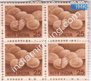 India MNH Definitive 6th Series Poultry 25p (Block B/L 4) - buy online Indian stamps philately - myindiamint.com
