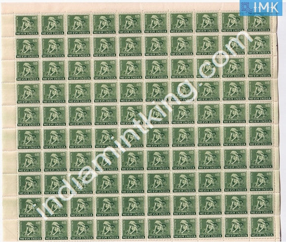 India MNH Definitive 4th Series Tea Plucking 0.15 (Full Sheet) - buy online Indian stamps philately - myindiamint.com