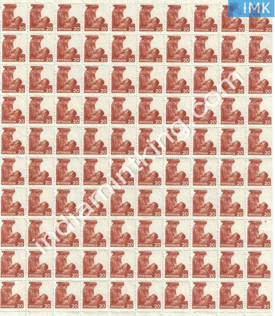 India MNH Definitive 6th Series Mother & Child Health 20p (Full Sheet) - buy online Indian stamps philately - myindiamint.com