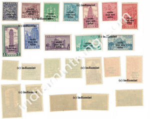 India MNH Definitive Overprint Katak Korea Set of 12V - buy online Indian stamps philately - myindiamint.com