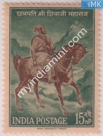 India 1961 MNH Chhatrapati Shivaji - buy online Indian stamps philately - myindiamint.com