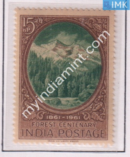 India 1961 MNH Centenary Of Scientific Forestry - buy online Indian stamps philately - myindiamint.com