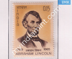 India 1965 MNH Abrahim Lincoln - buy online Indian stamps philately - myindiamint.com