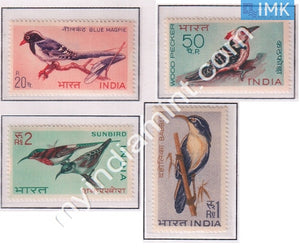 India 1968 MNH Indian Birds Set Of 4v - buy online Indian stamps philately - myindiamint.com