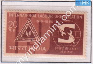 India 1969 MNH International Labour Organization (ILO) - buy online Indian stamps philately - myindiamint.com