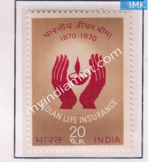 India 1971 MNH Indian Life Insurance - buy online Indian stamps philately - myindiamint.com