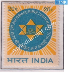 India 1972 MNH Sri Aurobindo - buy online Indian stamps philately - myindiamint.com