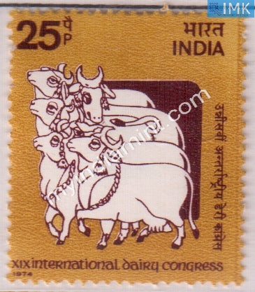 India 1974 MNH International Dairy Congress - buy online Indian stamps philately - myindiamint.com