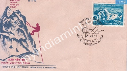 India 1973 Indian Mountaineering Foundation (FDC) - buy online Indian stamps philately - myindiamint.com