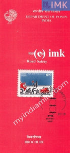 India 1991 Road Safety (Cancelled Brochure) - buy online Indian stamps philately - myindiamint.com