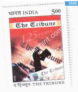 India 2006 MNH 150 Years of The Tribune - buy online Indian stamps philately - myindiamint.com