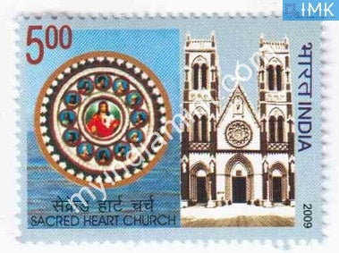 India 2009 MNH Sacred Heart Church - buy online Indian stamps philately - myindiamint.com