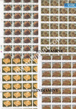 India 2001 MNH Corals of India Set of 4v (Full Sheet) - buy online Indian stamps philately - myindiamint.com
