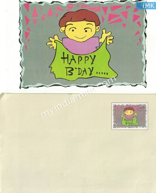India Greetings Envelope Happy Birthday Vaiety 6 #SP15