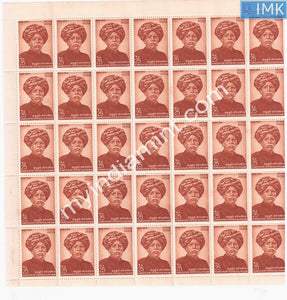 India 1974 Kandukuri Veeresalingam (Full Sheet)