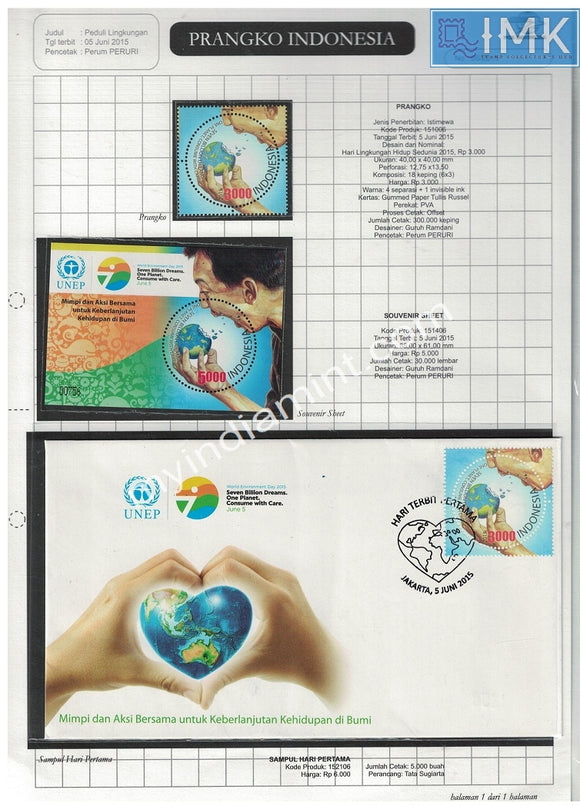 Indonesia 2015 Thematic Pack on UN World Environment Day Pack UNEP