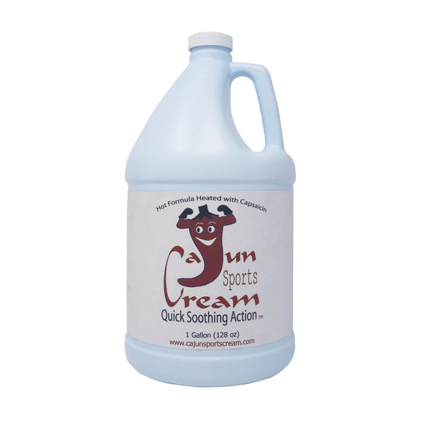 Cajun Sports Cream (Gallon Size)-Analgesic-Cajun Sports Cream-Cajun Sports Cream