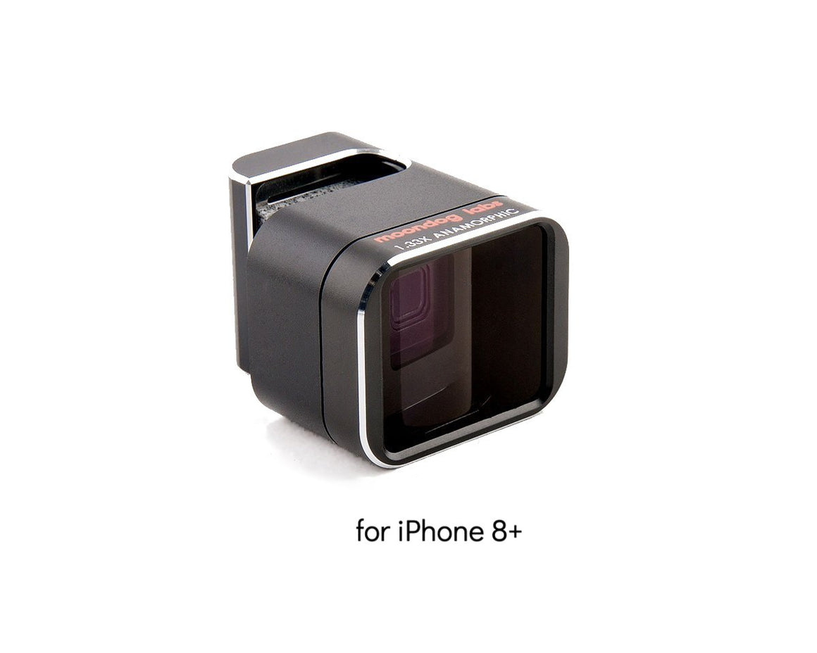 1.33X Anamorphic Lens Clamp-On for iPhone 8