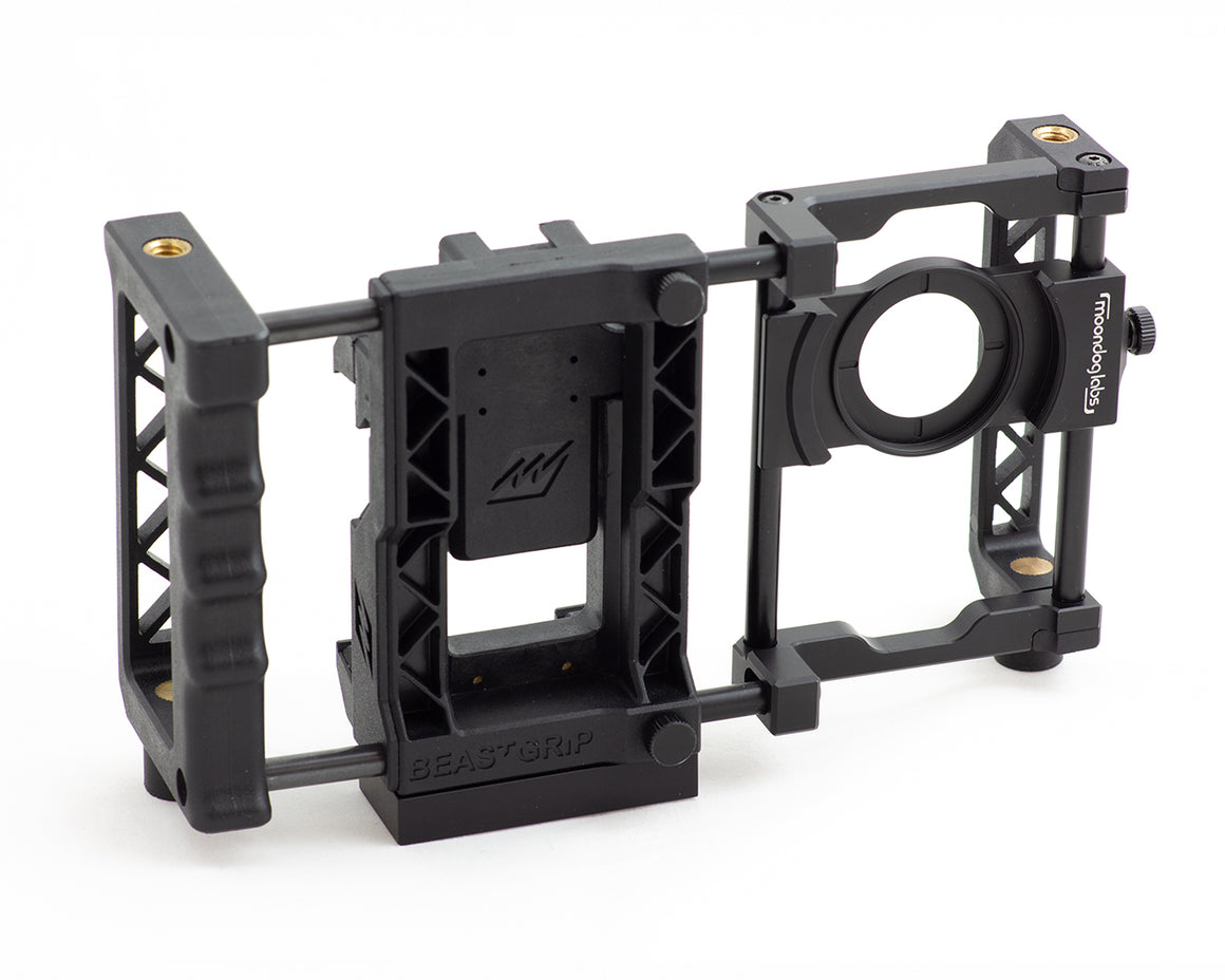 37 mm Anamorphic lens mounting plate - for BeastGrip Pro