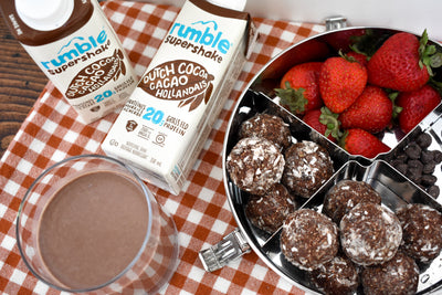 Rumble Recipe: Double Chocolate Protein Power Bites