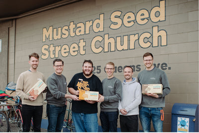 Rumble Supershake Donates over 10,000 Nutritional Drinks to The Mustard Seed of Victoria