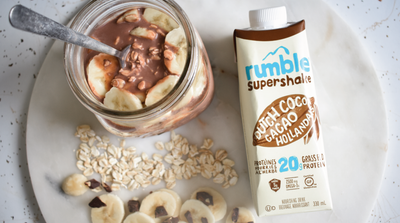 Rumble Overnight Oats: Protein-Packed Breakfast in a Flash