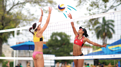 Sand on the Podium: Q&A with Canadian Beach Volleyball Player Shanice Marcelle
