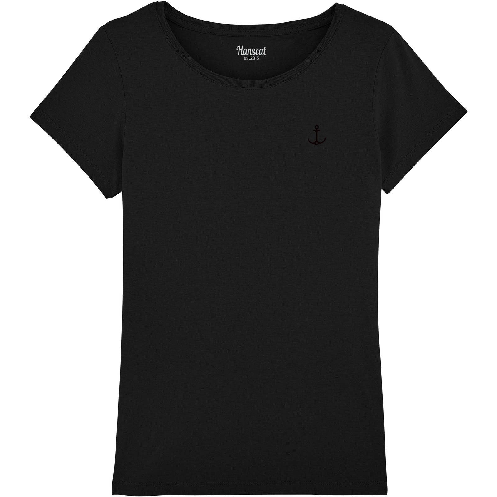 T-Shirt Regular Fit BLACK EDITION - Hanseat