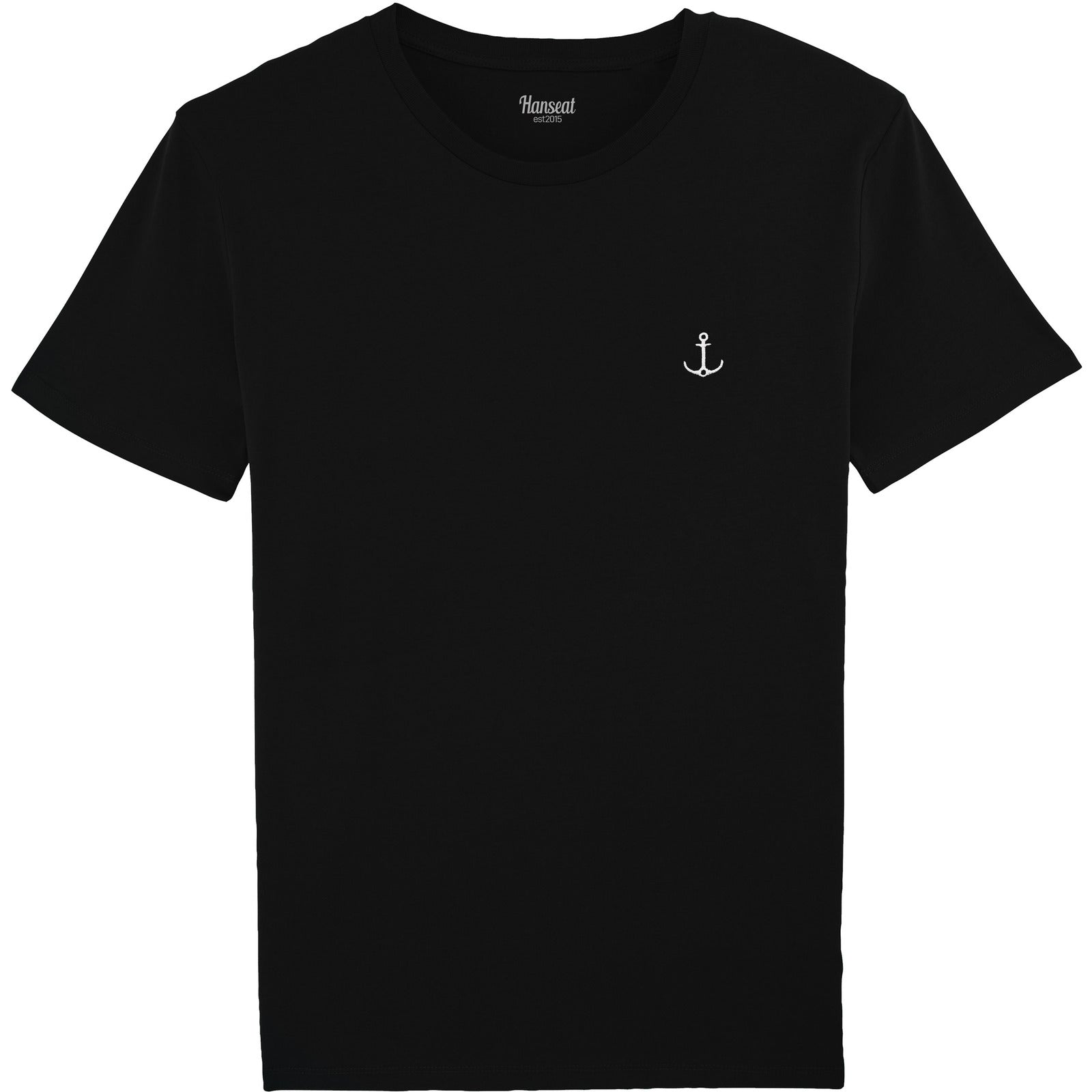 T-SHIRT REGULAR FIT [SCHWARZ] - Hanseat