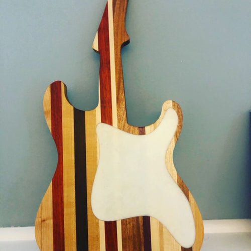 Electric Guitar Cutting Board