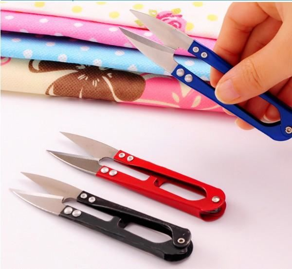 10Pcs Colored Stainless Steel Scissors