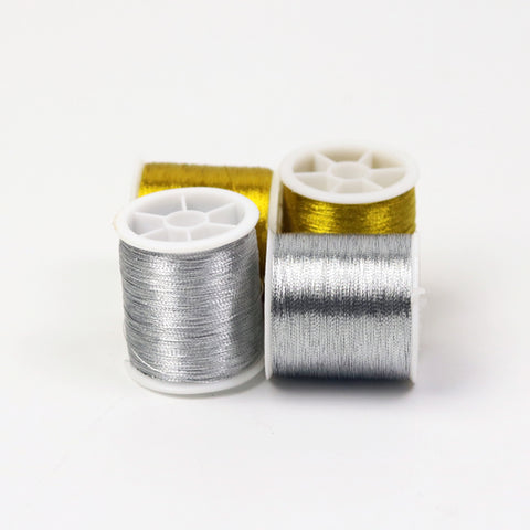 4Pcs Gold/Silver/ 109 yards