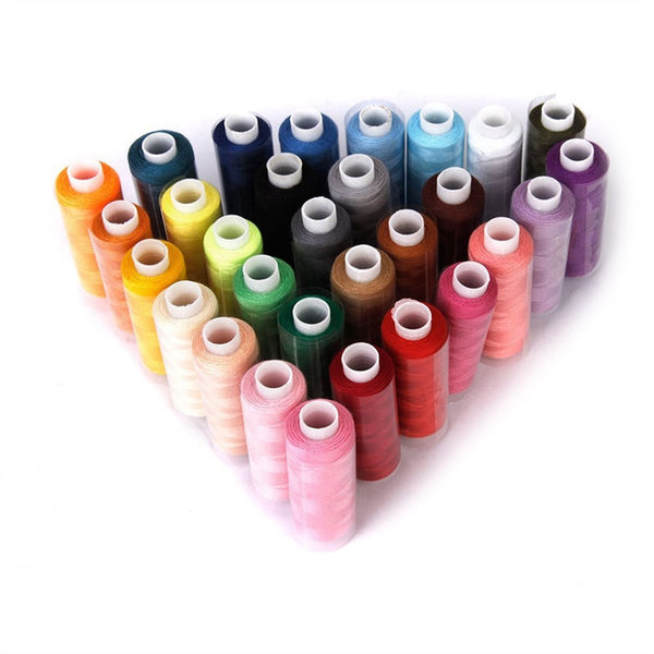 30pcs Polyester Yarn Coils Strings Sewing Quilting Threads (Random Color) - sewing.craft