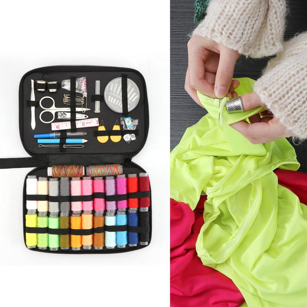 Sewing Kit With 96 Accessories