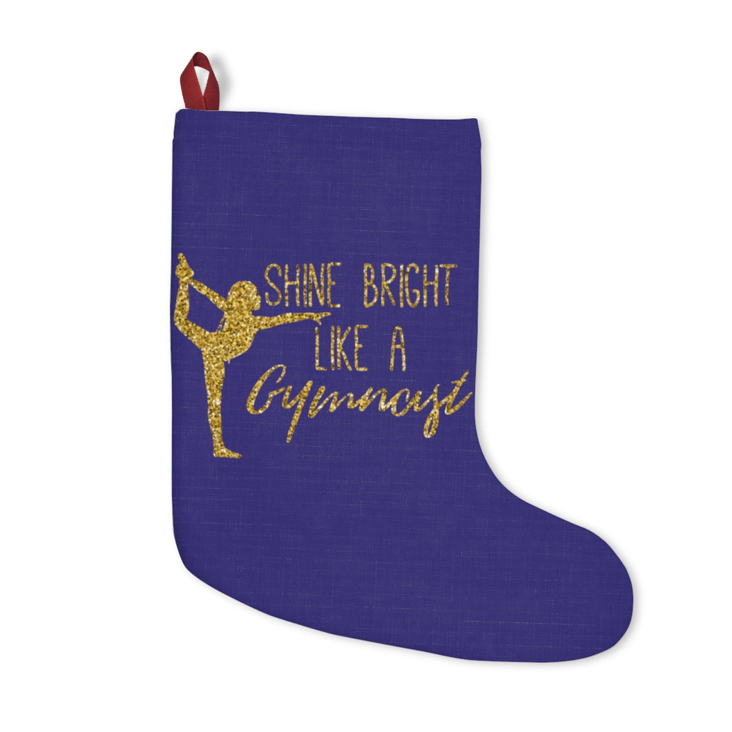 Gymnastics Shine Christmas Stockings - It's A Gymnastics Thing
