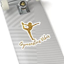 Gold Vibes Adhesive Sticker - It's A Gymnastics Thing