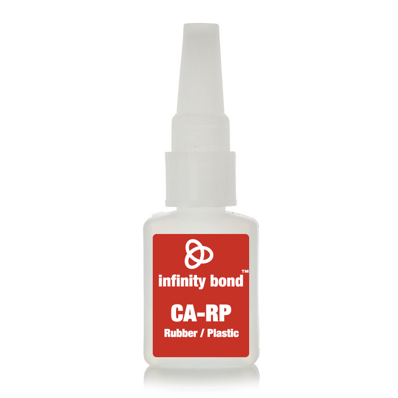 Infinity Bond Rubber Plastic Super Glue 2 oz