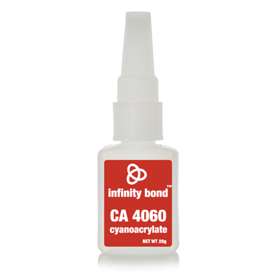 Infinity Bond CA 4060 low odor low bloom cyanoacrylate