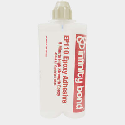 Premium High Strength White Epoxy Adhesive - 400ml Cartridge