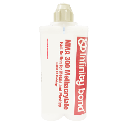 Infinity Bond MMA 300 metal and plastic bonding - 400ml cartridge