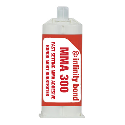 Infinity Bond MMA 300 Fast Setting Metal and Plastic Methacrylate Adhesive