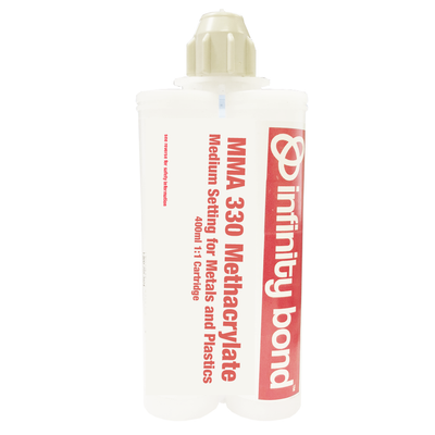 MMA 330 Medium Setting Methacrylate Adhesive for Difficult Substrates - 400ml