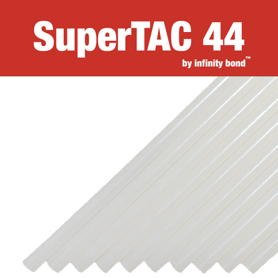 Infinity Bond SuperTAC 44 hot melt glue sticks