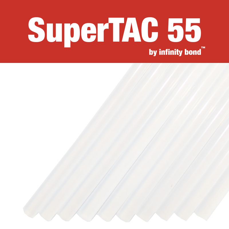 Infinity Bond SuperTAC 55 hot melt glue sticks