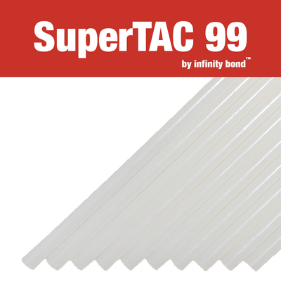 Infinity Bond SuperTAC 99 hot melt glue sticks