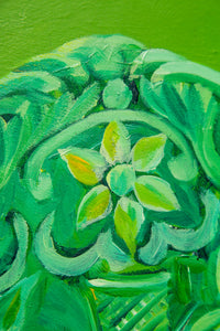 Green Shield, Poland / Original on Canvas
